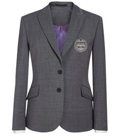 EMB - Ladies 30/30 Light Grey Blazer (Silver Badge)